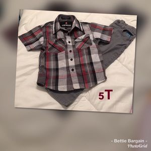 5T.    2 pc Outfit